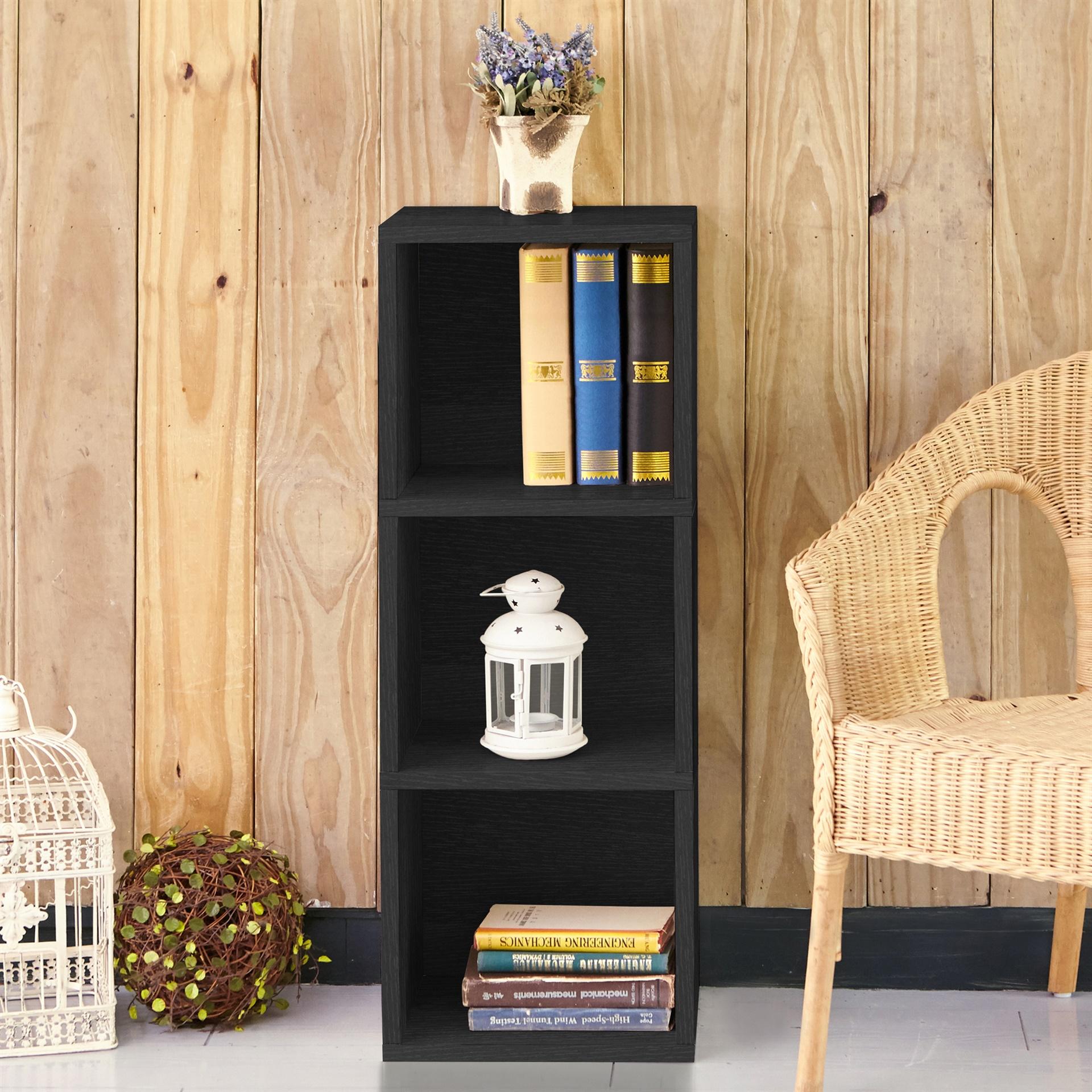 Way Basics Eco Friendly Wynwood 3-Cube Organizer
