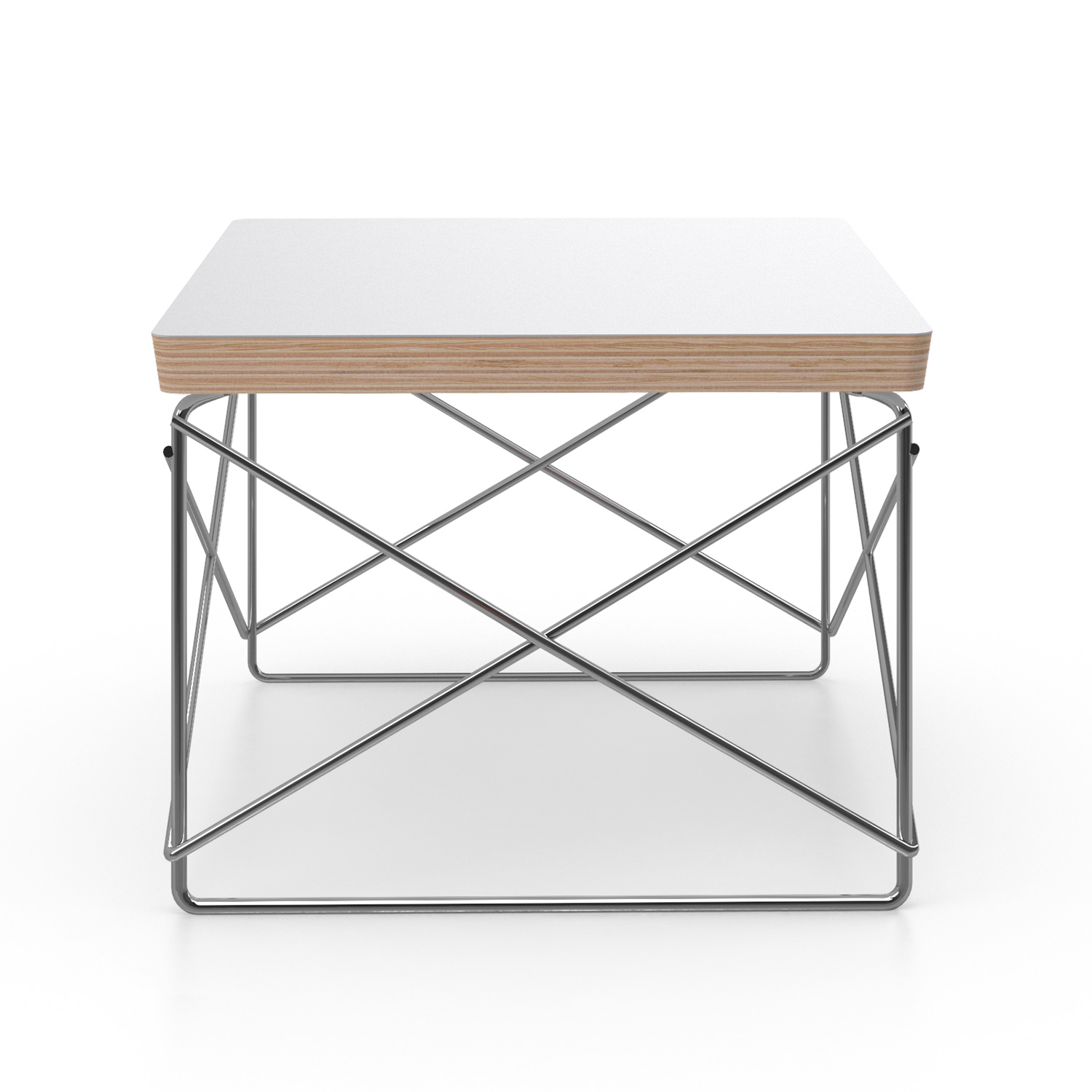 Wire Base Side Table. U003e