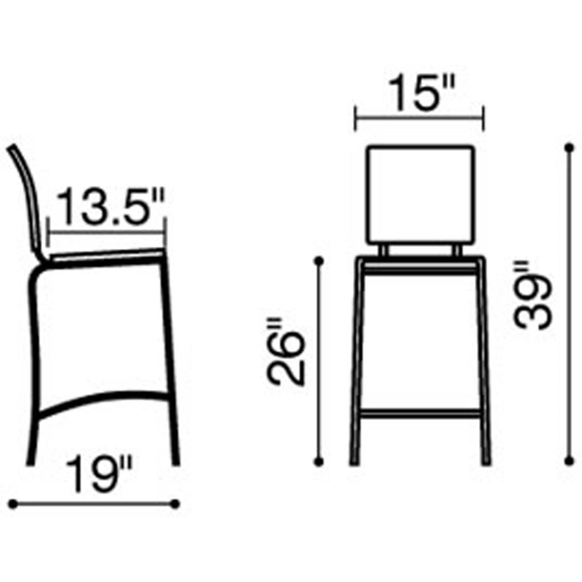 Stupendous Criss Cross Counter Stool Lamtechconsult Wood Chair Design Ideas Lamtechconsultcom