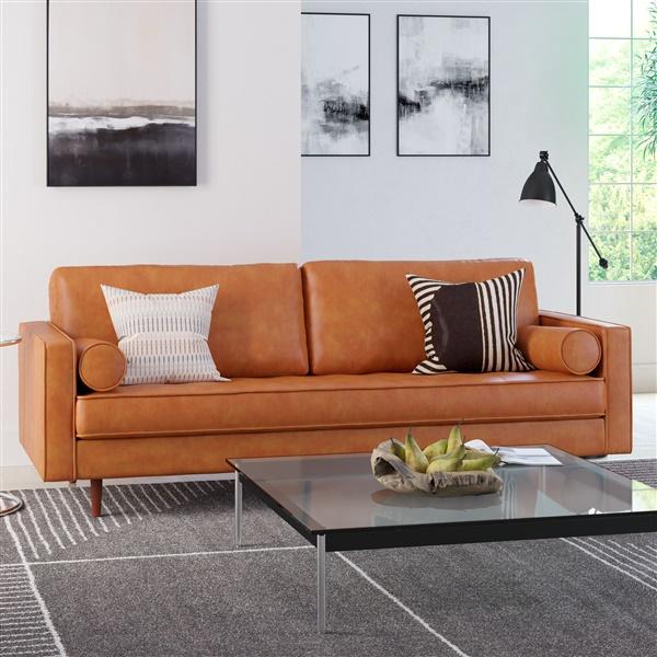 Ashton Vintage Leather Sofa