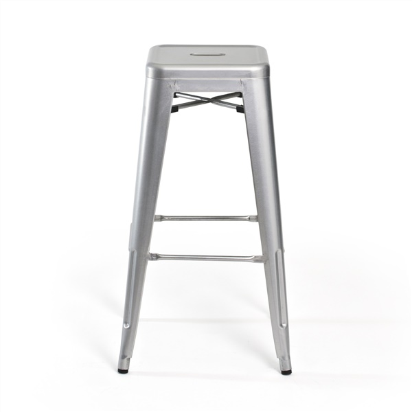 Bastille Bar Stool (Silver)