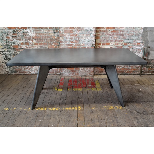 Bastille Cafe Rectangular Dining Table