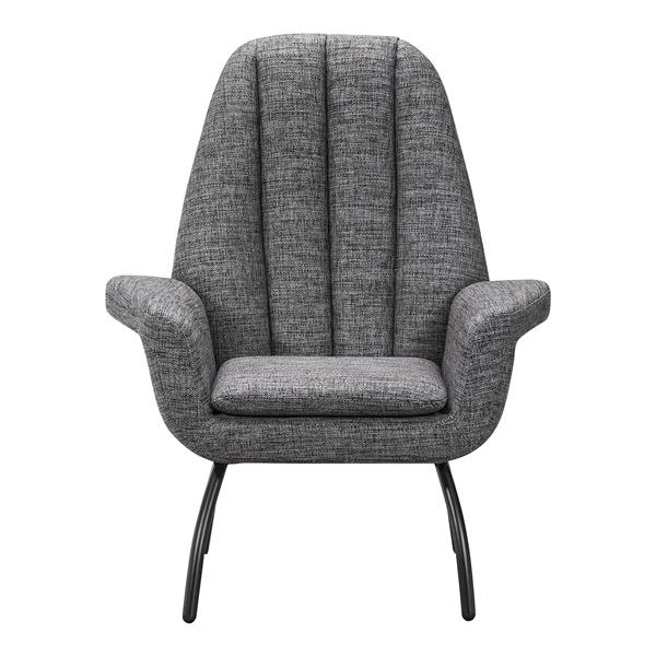 Alberto Accent Chair (Dark Gray)