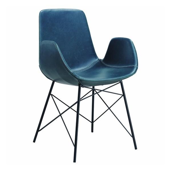 Alison Arm Chair (Blue)