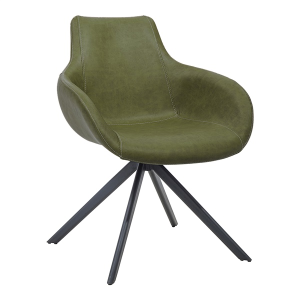 August Arm Chair (Dark Green)
