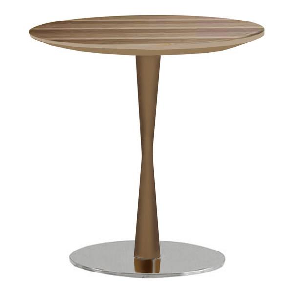 Baldo End Table (Light Walnut)