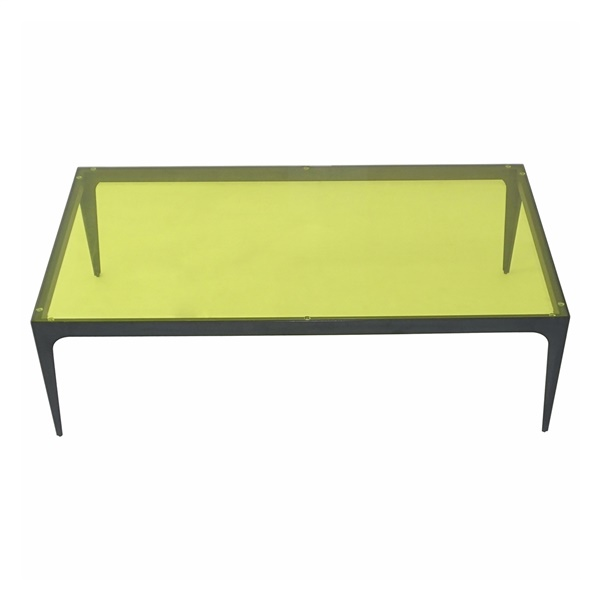 Dynasty Coffee Table (Golden Yellow)