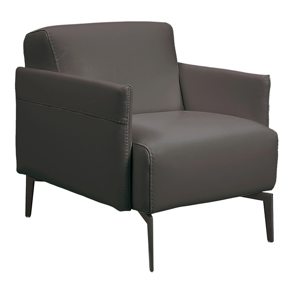 Eros Accent Chair (Dark Gray)