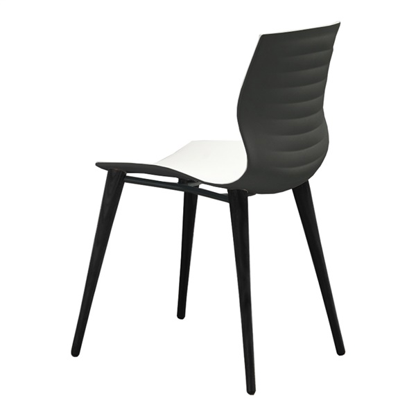 Evalyn Dining Chair (White / Anthracite)