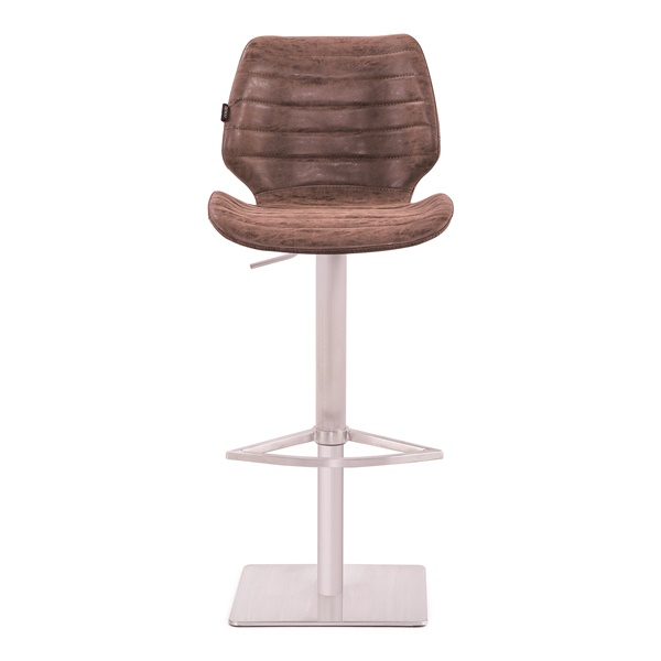 Gina Gas Lift Barstool (Vintage Brown)
