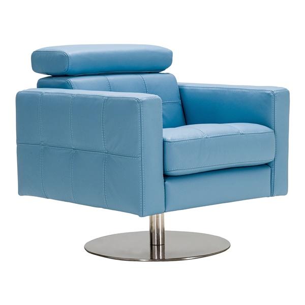 Milo Lounge Chair (Blue)