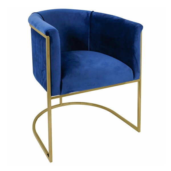 Muse Arm Chairn (Blue)