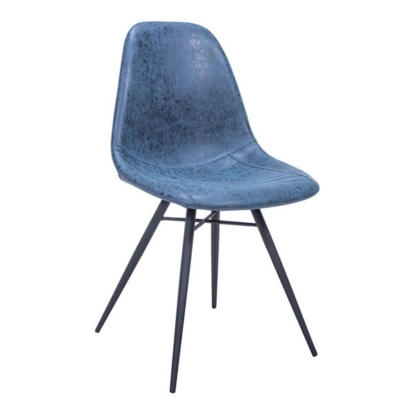 Paris Dining Chair (Dark Blue)