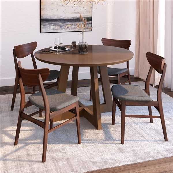 Bjorn / Scandi 5-Piece Dining Set