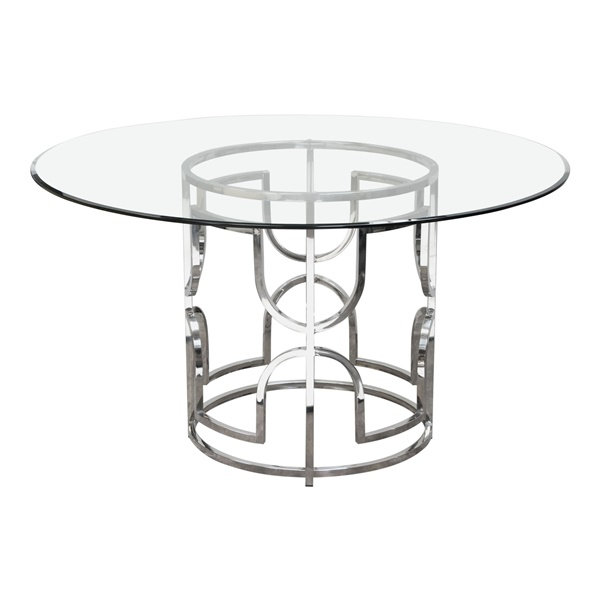 """Avalon 54"""" Round Dining Table"""