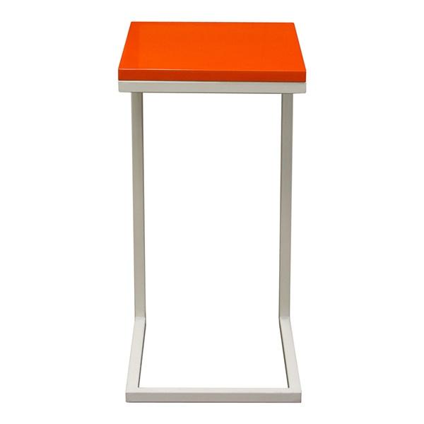 Edge Accent Table (Orange)