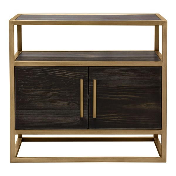 Empire End Table (Gold)