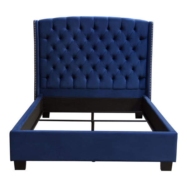 Majestic Bed (Royal Navy Blue)