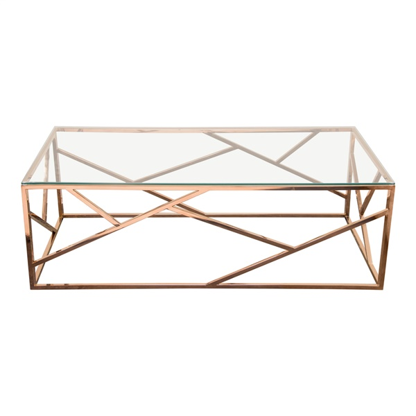 Nest Coffee Table (Rose Gold)