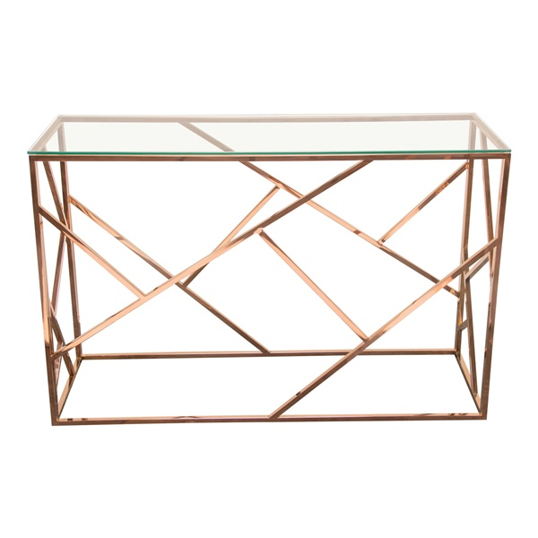 Nest Console Table (Rose Gold)