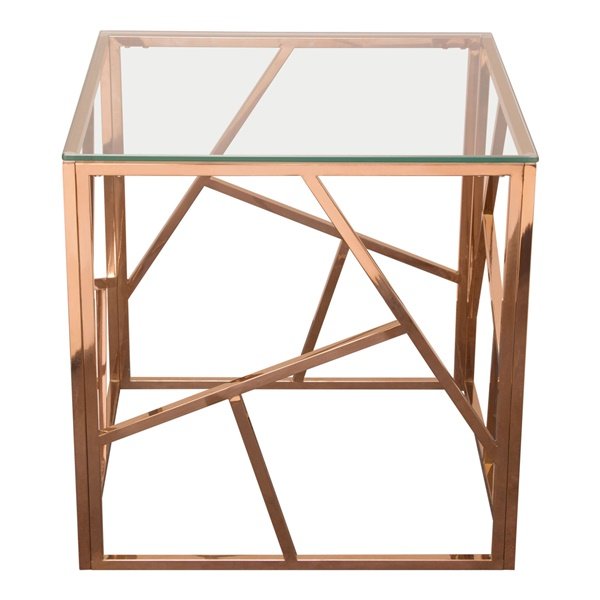 Nest End Table (Rose Gold)