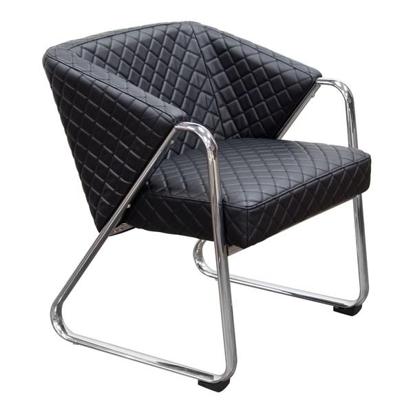 Retro Accent Chair - Black