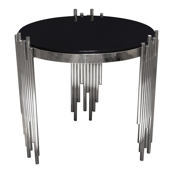 Vantage End Table (Gold)