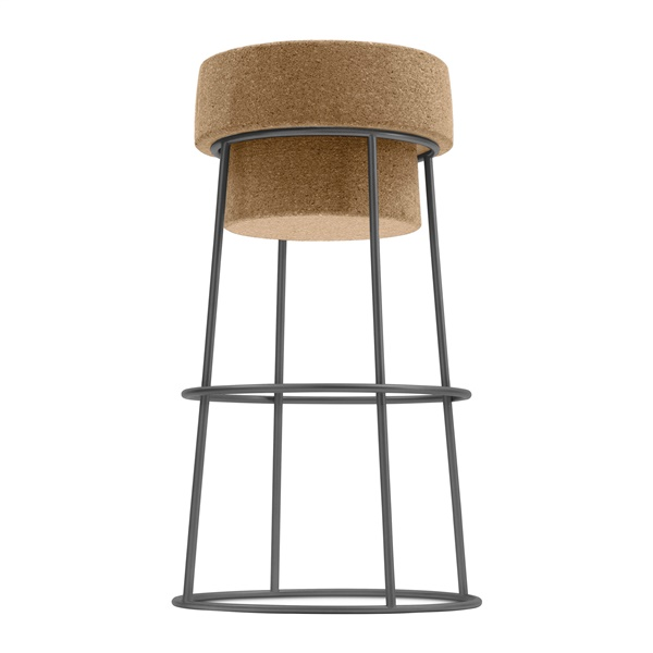 Bouchon Counter Stool (Anthracite)