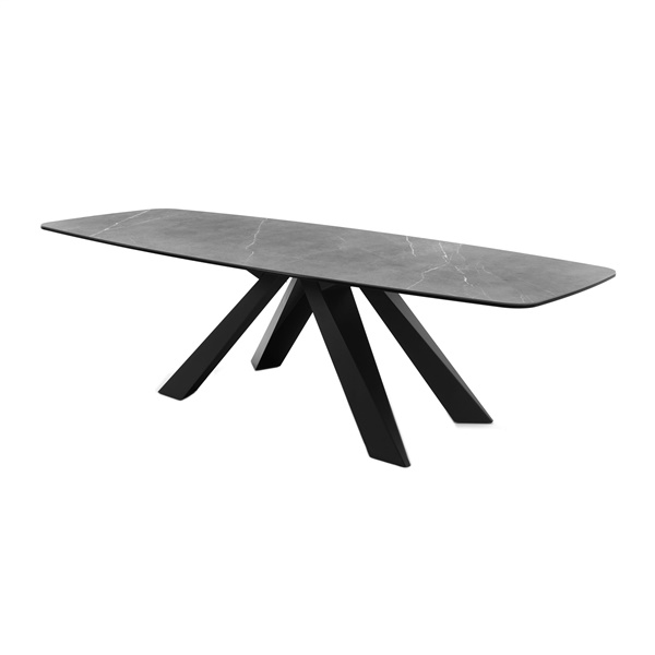 Cosmo Dining Table (Pietra Gray / Anthracite)