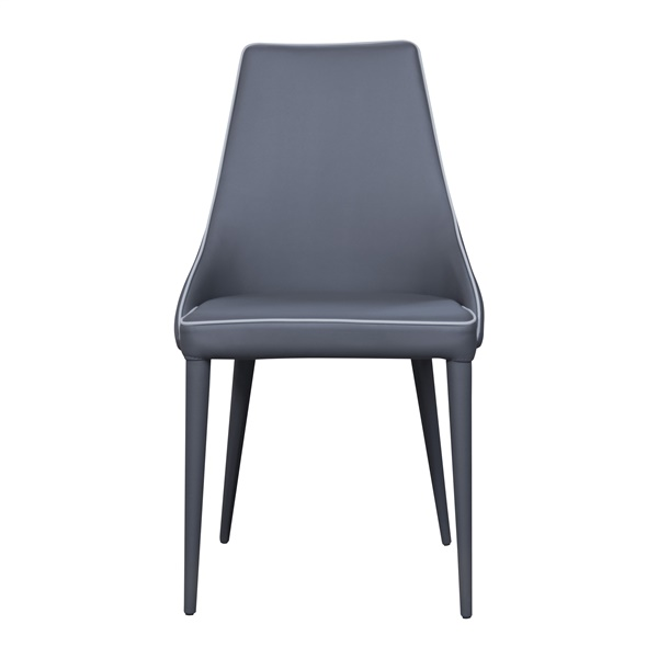 Impero Upholstered Dining Chair (Anthracite)