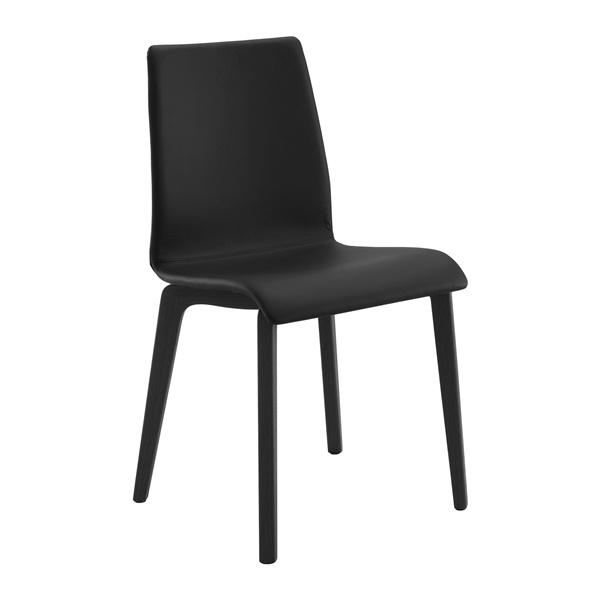 Jude-L Chair (Anthracite / Black)