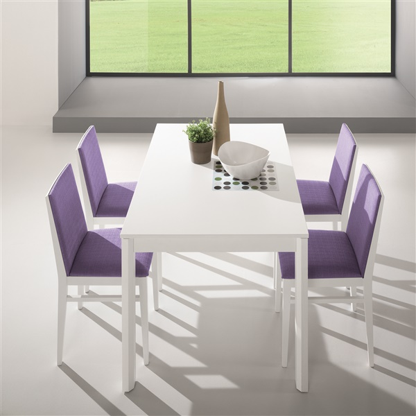 Leon Rectangular Dining Table (Walnut)