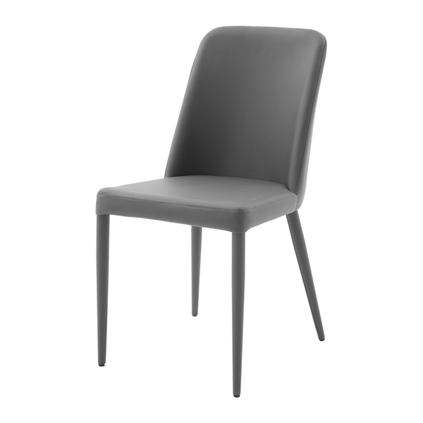 Maya Upholstered Dining Chair (Anthracite)