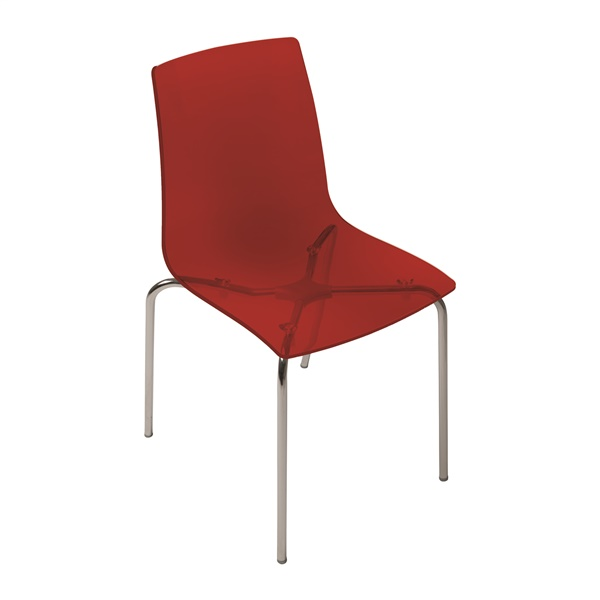 Piper Dining Chair (Red)