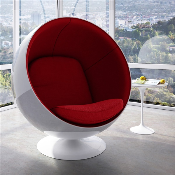 & Eero Aarnio Ball Chair
