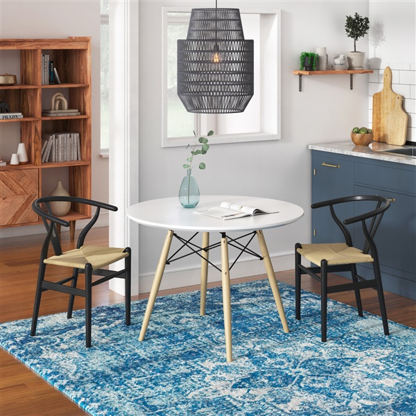 Eiffel Round Dining Table (Natural)