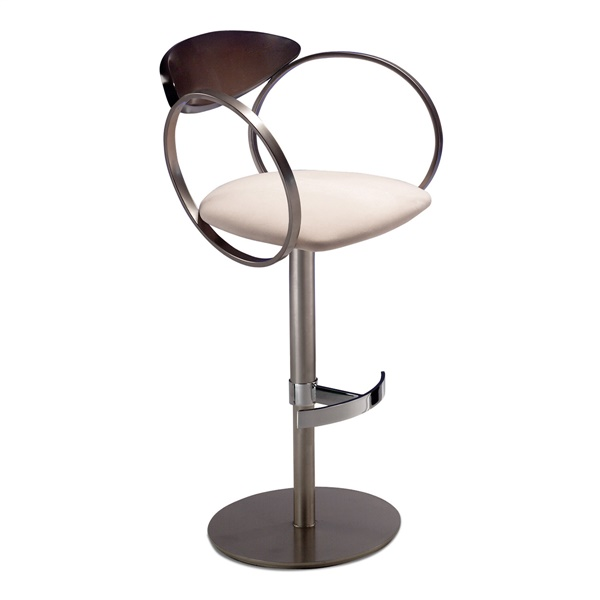 Eclipse Barstool (Onyx / Orchid)