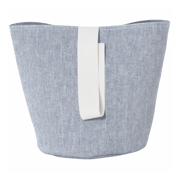Chambray Basket (Small / Blue)