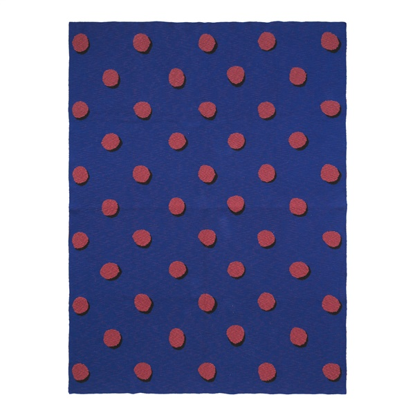 Double Dot Blanket (Blue)