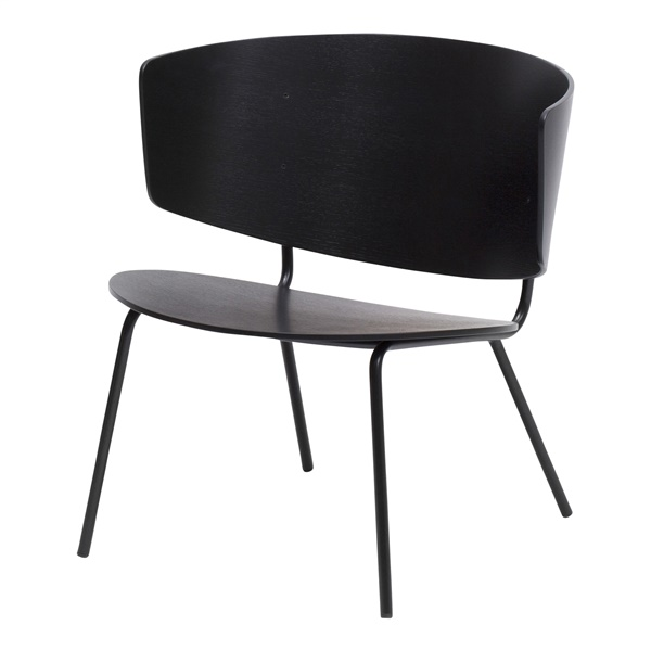 Herman Lounge Chair (Black)