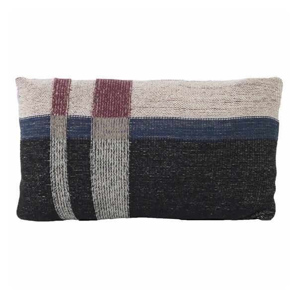 Medley Knit Cushion (Small / Dark Blue)