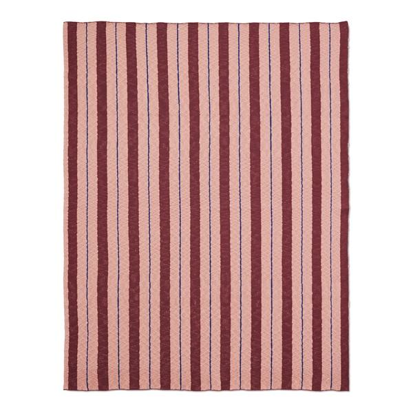 Pinstripe Blanket (Blue)