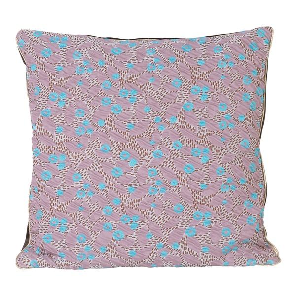 Salon Flower Cushion (9.8in. / Blue)