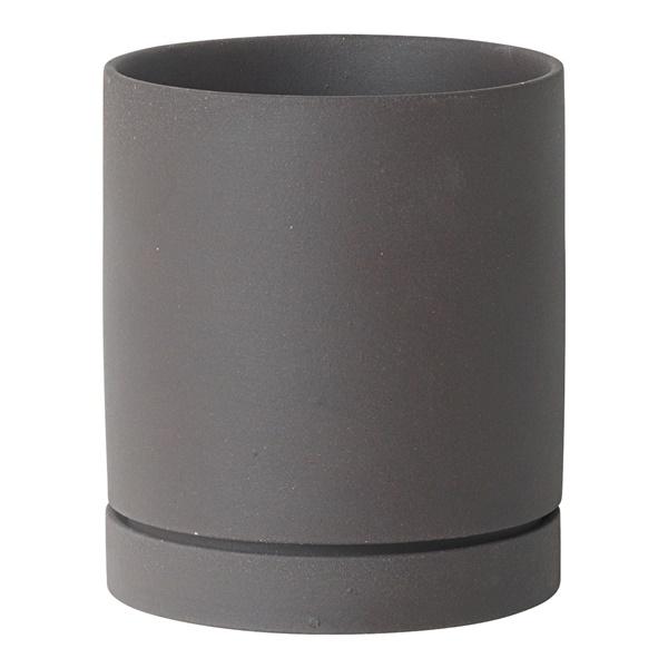 Sekki Pot (Small / Charcoal)
