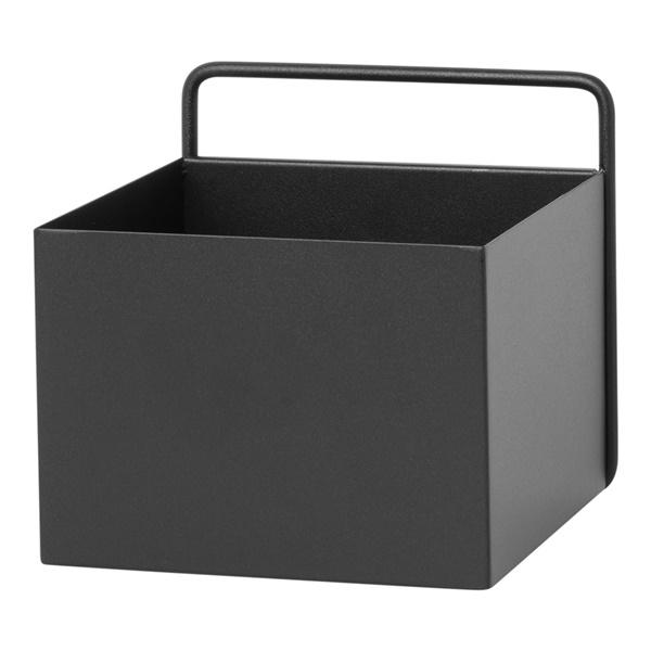 Wall Square Box (Black)