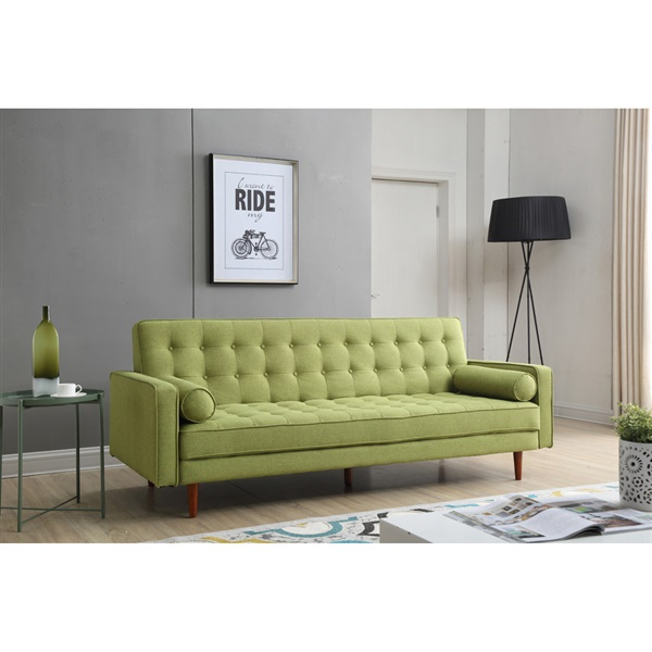 Flo Convertible Sofa (Light Grey)