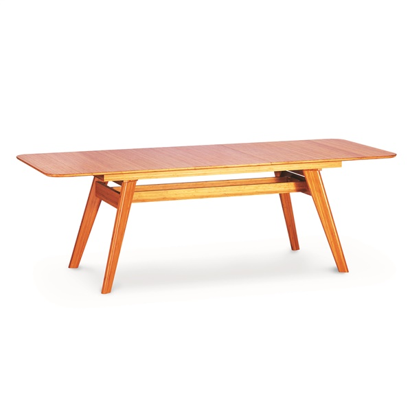 Currant Extendable Dining Table (Caramelized)