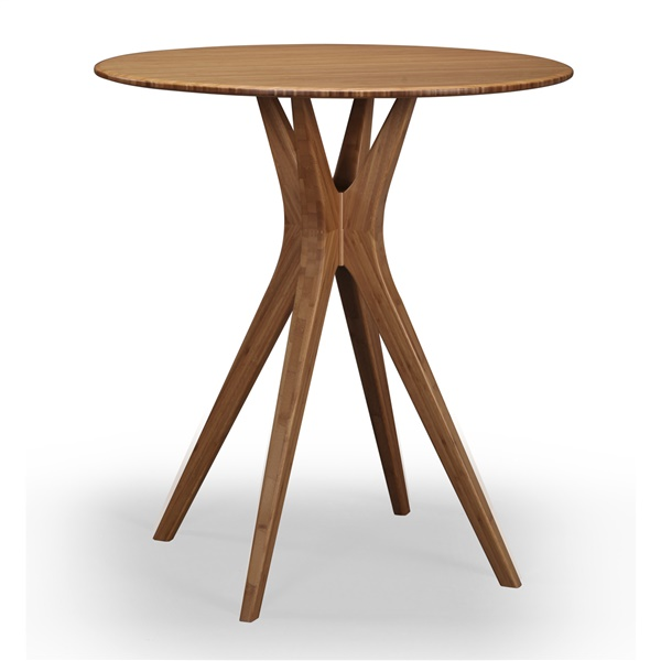 """Mimosa 36"""" Counter Height Table (Caramelized)"""