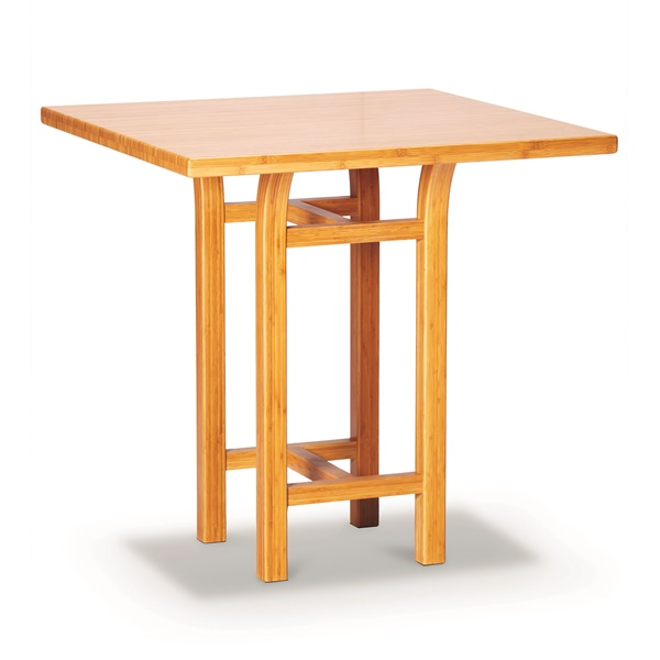 "Tulip 36"" Counter Height Table (Caramelized)"