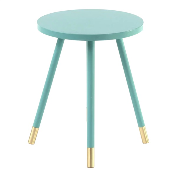Ridley Accent Table (Turquoise)